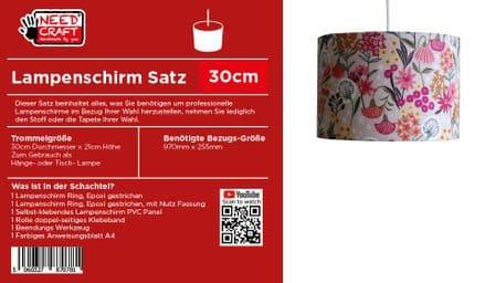 30cm Trommel Lampenschirm, Kit