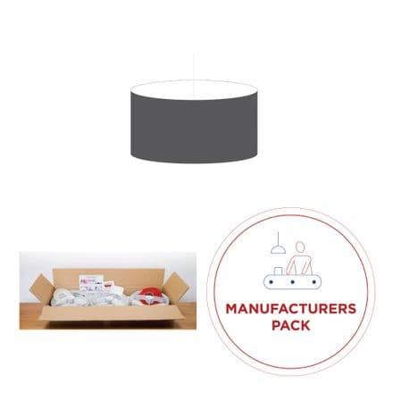 35cm Manufacturers Pack -  30 Drum Lampshades