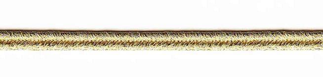3mm Soutache Gold Gilt 49