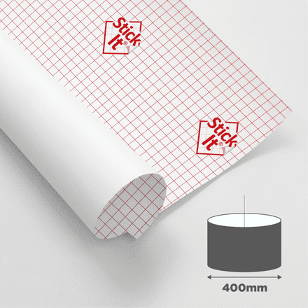 400mm Diameter - Self Adhesive Panels