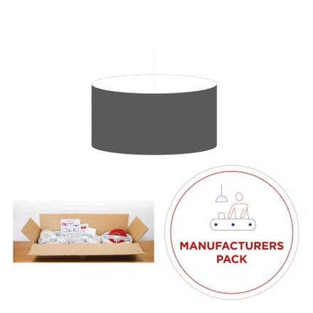 40cm Manufacturers Pack -  30 Oval Lampshades