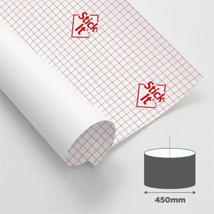 450mm Diameter - Self Adhesive Panels