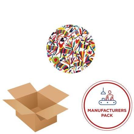 50cm Circle - Textile Wall Art Kit - Manufacturing Pack - 30 Units