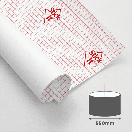 550mm Diameter - Self Adhesive Panels