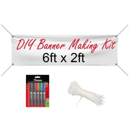 6ft x 2ft Banner Making Kit