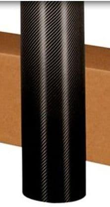 Black Carbon Vinyl 3D  152cm