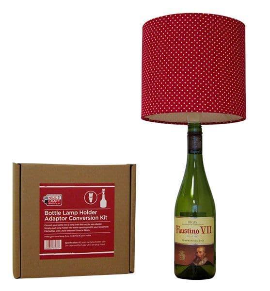 Bottle Lamp Holder Adaptor Conversion Kit
