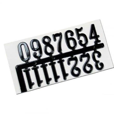 Clock Numbers  20mm  Self-Adhesive. (28473)