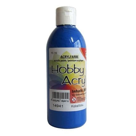 Cobalt Blue Acrylic Paint - 100ml (Item No: 14911)
