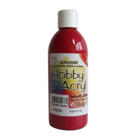 Crimson Acrylic Paint - 100ml (Item No: 14908)