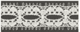 Decorative Lace - Natural - 16mm width - 50mtrs (Item No: 956-09)