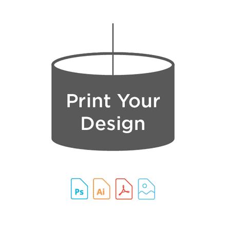 Digital Print for Candle Lampshade Making Kit
