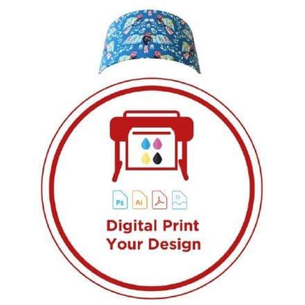 Digital Print for Cylindrical Wall Light