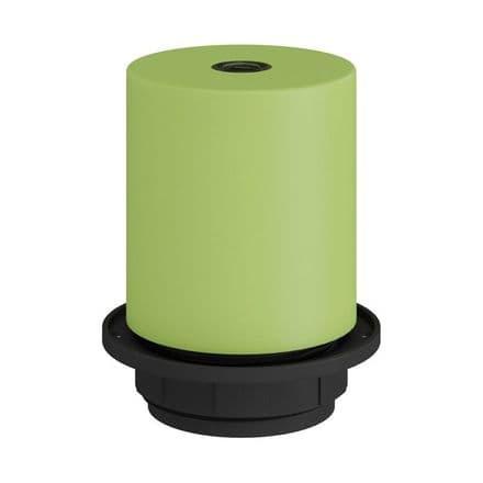 E27 Semi-flush Metal Lamp Holder Kit - Light Green