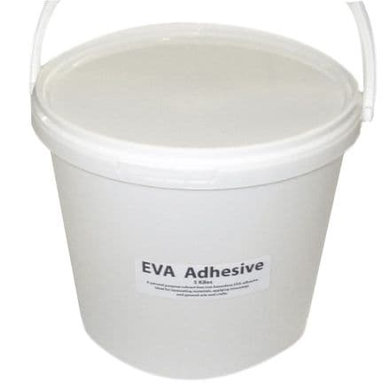 EVA Adhesive 5 Kilo Tub