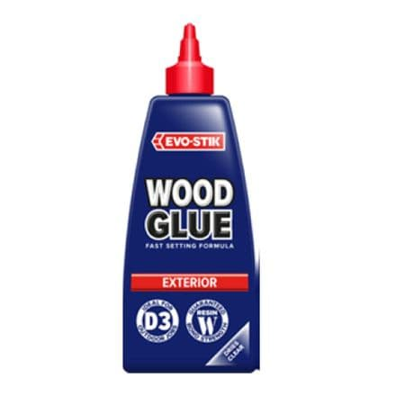 Evo-Stik Resin W Weatherproof Exterior Wood Adhesive 125ml  30615821