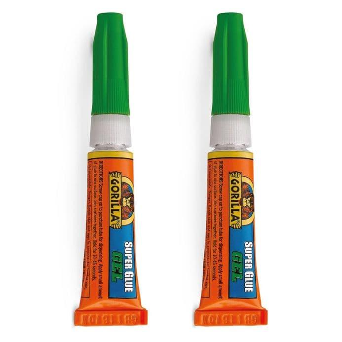 Gorilla Glue Super Glue Gell -  Twinpack  2 x 3gram