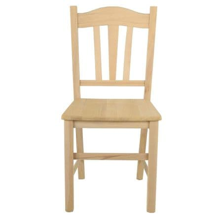 Italian Beechwood Quality Chair -  Ready for painting