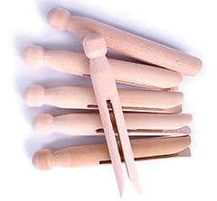 Lampshade  Dolly Pegs (Pack of 6)