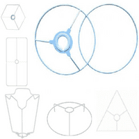 Lampshade Frames  - Rigid Shades