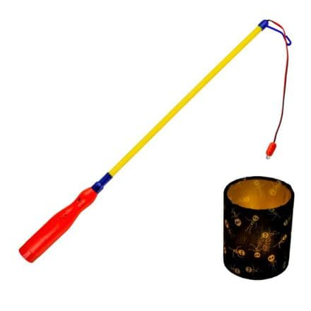 Lantern  Holder  Stick   Battery powered  (15161)