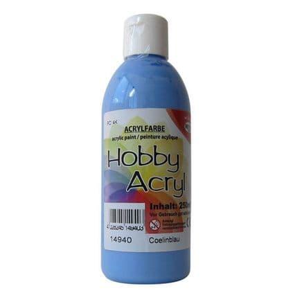 Light Blue Acrylic Paint - 250ml (Item No: 14940)