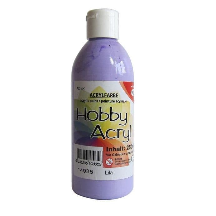 Lilac Acrylic Paint - 250ml (Item No: 14935)
