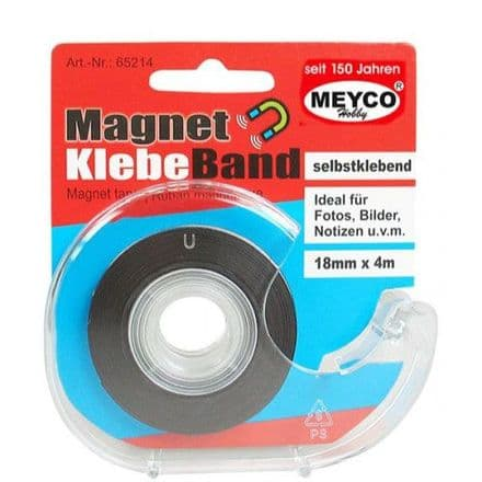 Magnet Tape   4mtrs x 18mm     (65214)