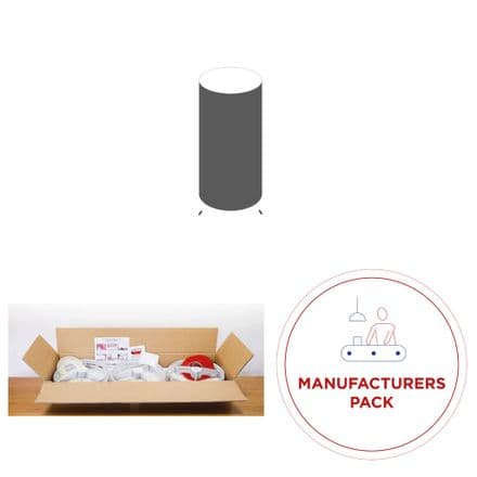 Manufacturers Pack - DIY Table Lamp Kit -  30 x Tall Cylinder