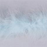 Marabou (Fur) Luxury Trim - 4mm - Blue  x 10mtrs