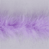 Marabou (Fur) Luxury Trim - 4mm - Lilac  x 10mtrs
