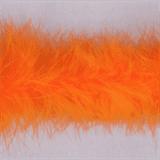 Marabou (Fur) Luxury Trim - 4mm - Orange  x 10mtrs