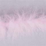 Marabou (Fur) Luxury Trim - 4mm - Pale Pink  x 10mtrs