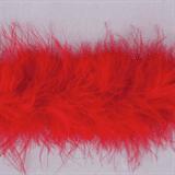 Marabou (Fur) Luxury Trim - 4mm - Red  x 10mtrs