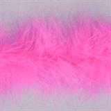 Marabou (Fur) Luxury Trim - 4mm - Shocking Pink  x 10mtrs