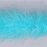 Marabou (Fur) Luxury Trim - 4mm - Turquoise  x 10mtrs