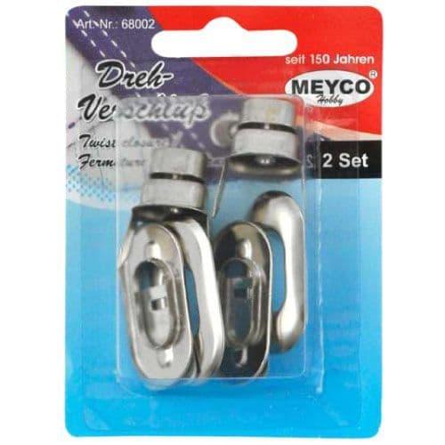Metal Catch, Lock, Fastener Twist Closure  (item 68002)