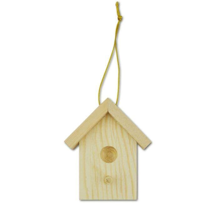 Mini Wooden Birdhouse (35031)