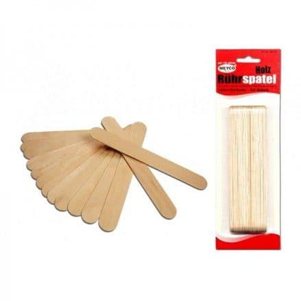 Mixer/ Lolly  Sticks / Wooden Spatulas  (Item No: 66172)