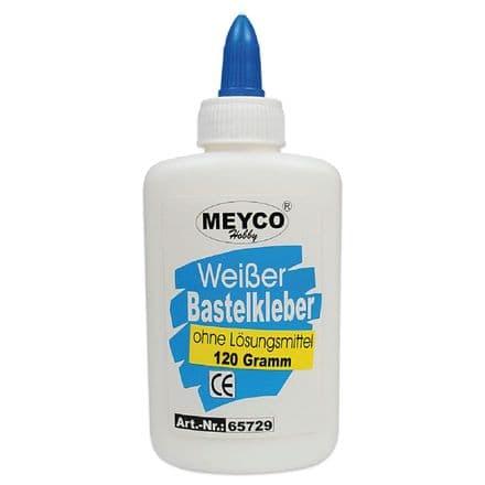 Multi-Purpose White Craft Glue (solvent-free) - 120g (Item No: 65729)