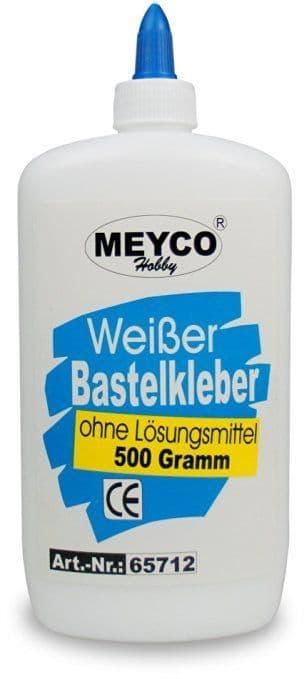 Multi-Purpose White Craft Glue (solvent-free) - 500g (Item No: 65712)