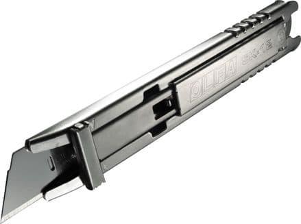 Olfa Stainless Steel Semi Auto Retracting Cutter  OLF/SK1224