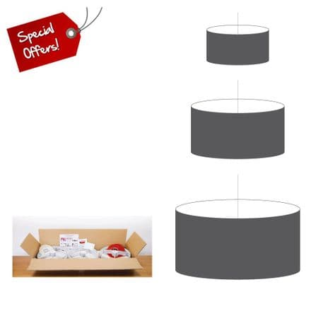 Oval Lampshade Manufacturers Starter Pack SAVE 20% (20cm,30cm & 40cm)