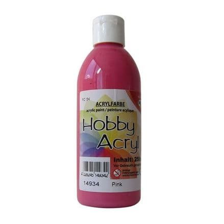 Pink Acrylic Paint - 100ml (Item No: 14904)