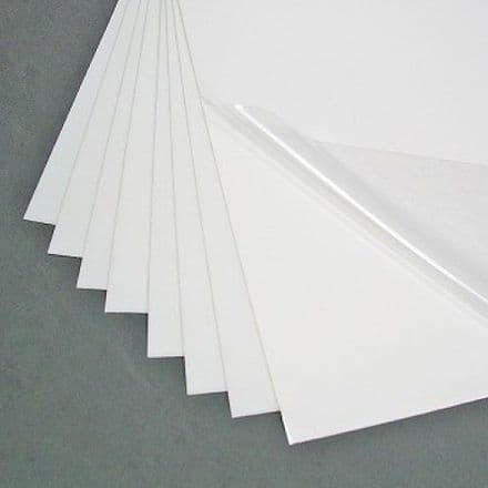Plastic clear  Covering film (WITHOUT ADHESIVE) -35 x 25 cm sheet  (15104)