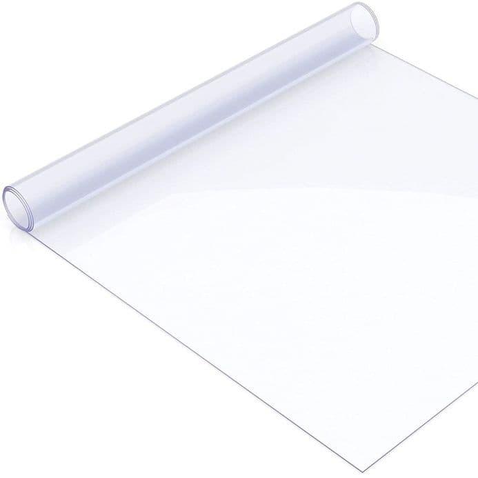 Polyester (Pet) High Gloss Transparent Screen Material  - 5mtr Roll x  140cm