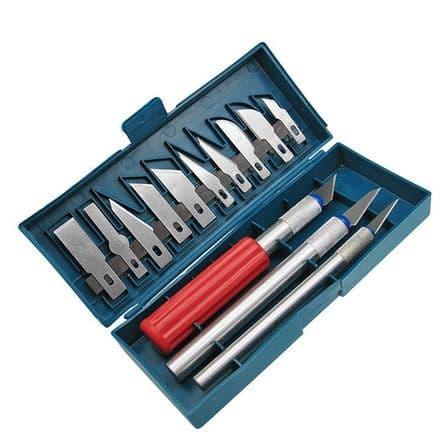 Precision Art Craft Knife Box Set x 13 - (Item No: 65080)
