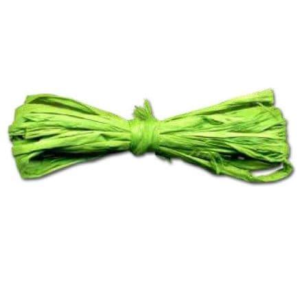 Rafia Yarn Material  40grams   Lime (22302)