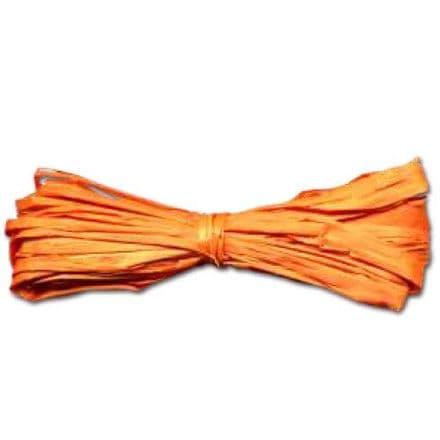 Rafia Yarn Material  40grams   Orange  (22304)