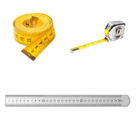 Tape Measures, Rulers and Tools